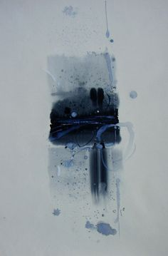 """Saatchi Online Artist: Yulia Luchkina; Watercolor 2010 Painting """"Form without a form """""""