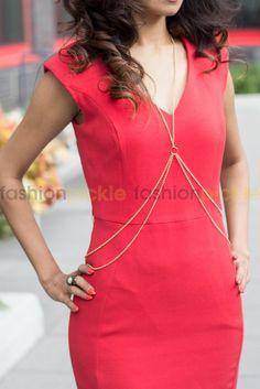 Carnation Body Chain