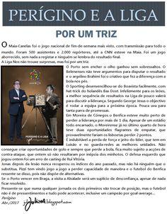 JULIUS   RIMANTE  NEWS: #PERÍGINO E A LIGA