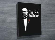 "The Godfather from $26.00. This canvas art print depicts the movie poster of ""The Godfather"" that features the young Al pacino. As with all art on this site, we offer these prints as stretched canvas prints, framed print, rolled or paper print or wall stickers / decals. http://www.canvasprintsaustralia.net.au/  #PhotosoncanvasAustralia #Stretchedcanvas #Gicleeprint"