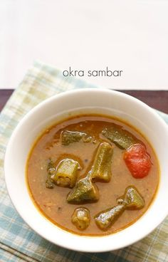 Kongu traditional recipes kadamba sambar sambars pinterest okra sambar recipe also known as vendakkai sambar in tamil language or bhindi sambar in forumfinder Image collections