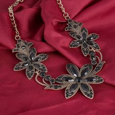 Gothic Style Floral Necklace //Price: $10.99 & FREE Shipping //     #shoppingtime #orphanland