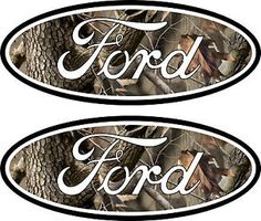 2-Camouflage-Ford-Emblem-Decal-04-11-Ranger-Excursion-F250-F350-4x4-SD-Camo-F150