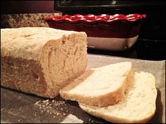 Homemade Bread (made without a bread machine) | I make this at least once a week with my Ninja mixer