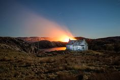The lonely island: abandoned houses of the Hebrides –in pictures