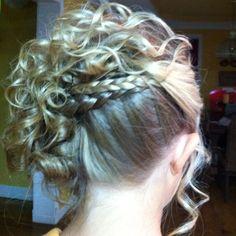 My prom hair!