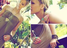 Bali Villa Beach Dreamer (by Morgan Joanel)  via Lookbook.nu feat. Lotus Mendes Gold Skull Ring, Turquoise Goddess Ring and Brass Chain Necklace (http://lookbook.nu/look/2548551-Bali-Villa-Beach-Dreamer)
