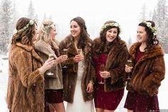 Winter Wedding Fur, Winter Weddings, Canadian Winter, Fur Stole, Vintage Fur, Dream Wedding, Wedding Tips, Wedding Stuff, Wedding Planning