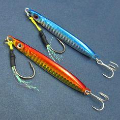 Long Range Casting Fishing 23g/42g Jigs Metal Spoons Spinner jigging Bait Spanish Mackerel  #fishingtrends