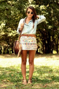 cute outfit there's something similar at American eagle! Can't wait to buy!