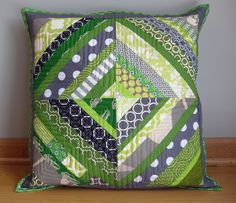 Made Monday {String Block Pillow} | Flickr - Photo Sharing!
