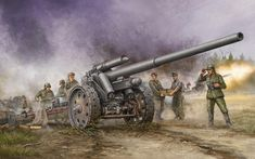 German Howitzer by Trumpeter Models Military Guns, Military Art, Military History, Military Vehicles, Military Drawings, American Revolutionary War, Civil War Photos, Military Diorama, German Army