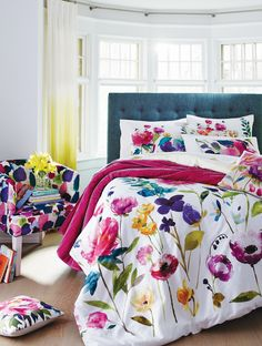 What's Hot in Home Décor This Fall 2018 * Kelly Bernier Designs Designer Bed Sheets, Bluebellgray, Interior Decorating, Interior Design, Cool Beds, New Room, Bunt, Sweet Home, Bedroom Decor