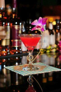 Guava martini...