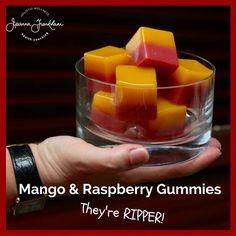 RIPPER Raspberry and Mango Gummies (AIP/Paleo)