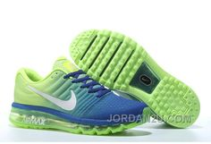 new york fb07c b3f3c AUTHENTIC NIKE AIR MAX 2017 ROLAY BLUE VOLT SILVER LASTEST 8MRNC Only  65.71€ , Free