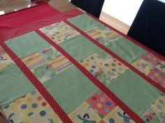 Cuddle quilt in progress