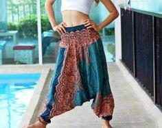 Pantalones de harén pantalones tailandeses pantalones por MaeYing