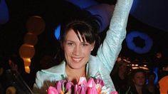 """Jill Johnson vann Melodifestivalen 1998 med låten """"Kärleken är"""". Jan Collsiöö/Pressens bild/Scanpix"""