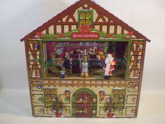 Mr Christmas Santas Advent Musical Animated Workshop House 25 Songs Carols Nice #MrChristmas