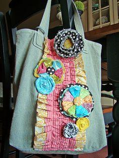 cute canvas bag idea