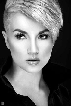 45 Superchic Shaved Hairstyles for Women in 2016 #ShortHairStyles