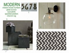 cottage and vine: modern front porch style