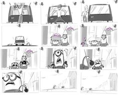 Despicable Me 2 Storyboards You Need Video Promoting Your Business, Product, Service Or Whatever You Want. --> http://www.gvcreator.com/
