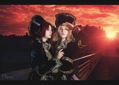 Esther Blanchett and  Ion Fortuna by JuliaFilimonova.deviantart.com on @deviantART