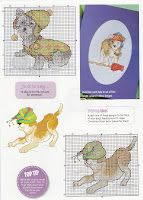 natty's cross stitch corner: dogs
