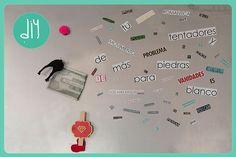 Como hacer económicos imanes ¡Haz click en la imagen para acceder al tutorial de www.LasManualidades.com!