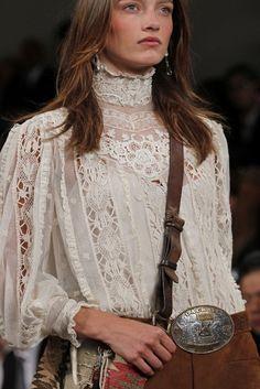 Victorian race  blouse