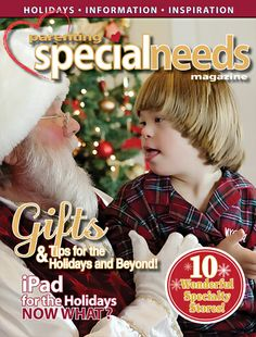 The online Special Needs Magazine for Parents http://parentingspecialneeds.org/