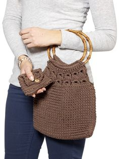 Gypsy_Bag_Purse crochet pattern Moda Vera and SPOTLIGHT store AUS