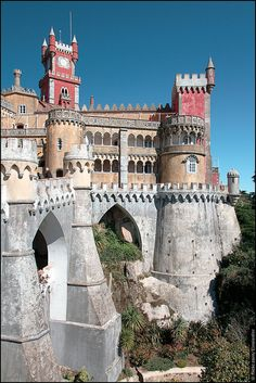 Pena National Palace @Cristina Brandenburg [Portugal] | Flickr - Photo Sharing!