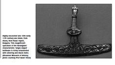 YOTOV Vikings in the Balkans - The Varangian Axe from Bulgaria -  10th–early 11th century axe blade, from Stana, Novi Pazar region,