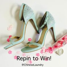 In honor of #mothersday, win a free pair of shoes for you and your Mom, today only! To enter is easy: 1) Follow Chinese Laundry Shoes on Pinterest 2) Repin this pin with the tag #CLheartsMoms. We will announce the winner on Pinterest tonight!