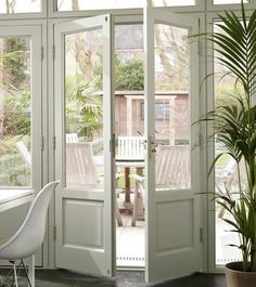 1000 images about french doors lead to the winter garden for Narrow french patio doors