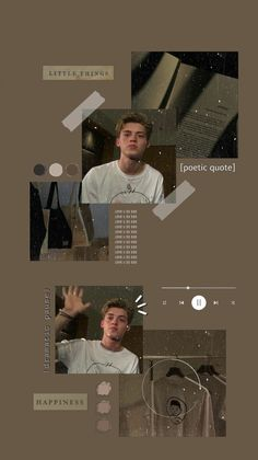 aesthetic brown white wallpaper lockscreen reece bibby by holylla Aesthetic Songs, Aesthetic Boy, New Hope Club, A New Hope, Boys Wallpaper, Iphone Wallpaper, White Wallpaper, Creative Instagram Stories, Instagram Story