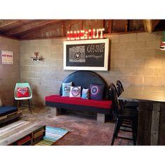 teenager garage hangout hangout teenager upcycle diy