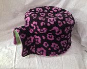 Purple Floral Igloo House Fleece Cover Print Fleece Hedgehog Pocket Pet $8.99