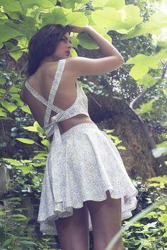 Milos skirt - Kea top 100% organic cotton