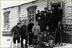 The hikers preparing for the trip that would be their last. The Dyatlov Pass Incident is one of the most mysterious cases ever.