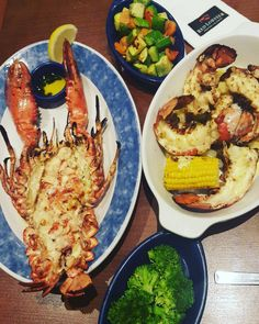 Red Lobster... and I was pleasantly surprised  #redlobster #lobster #lobstertail #abudhabi #myabudhabi #uae #dinner #seafood #onepicaday by bella_m_dxb