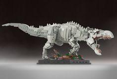 Cool Stuff: Custom LEGO Sets for 'Jurassic World' Indominus Rex and 'Jurassic Park' Ford Explorer Lego Jurassic World, Dino Lego, Robot Lego, Lego Batman, Lego Bionicle, Indominus Rex, Tyrannosaurus Rex, Niklas, Amazing Lego Creations