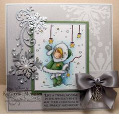 Twinkling Star by KatarinaM - Cards and Paper Crafts at Splitcoaststampers