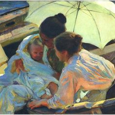 Joaquin Sorolla Y Bastida After the Bath hand painted oil painting reproduction on canvas by artist Spanish Painters, Spanish Artists, Figure Painting, Painting & Drawing, Beaux Arts Paris, Post Impressionism, Oil Painting Reproductions, A4 Poster, Paintings I Love