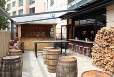 Sweet Cheeks' New Beer Garden | Thrillist