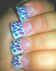 Fanned nails