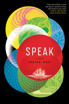 Speak by Louisa Hall | 34 Of The Most Beautiful Book Covers Of 2015
